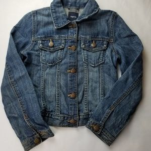 Gap Denim Jeans Jacket for Girls size 8